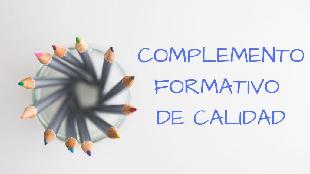 COMPLEMENTO FORMATIVO DE CALIDAD